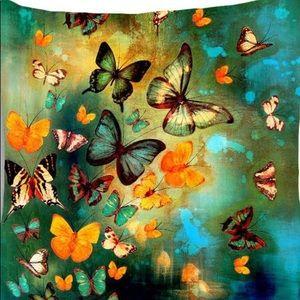 Pillow Cover- NEW - Butterflies